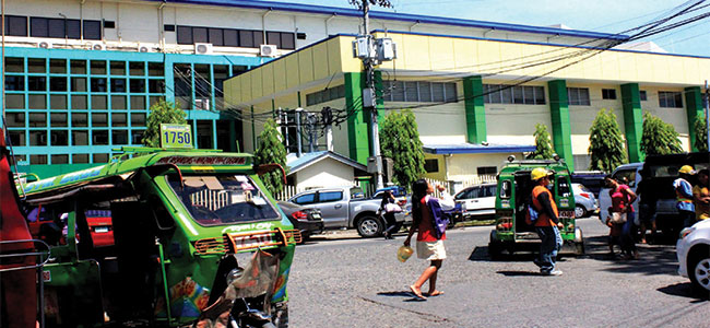NO MERS-COV. The state-run Northern Mindanao Medical Center--and the city-- is Merscov-free, according to the health department. (PHOTO BY NITZ ARANCON)