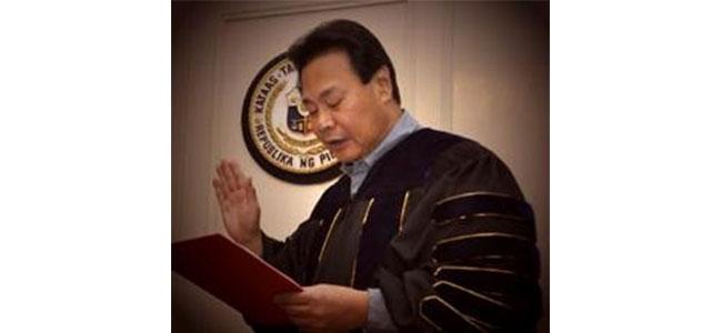 Former Supreme Court Chief Justice Renato Coronado Corona