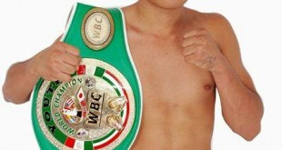 Worth Boxing Council (WBC) Youth Champion Dexter Alimento