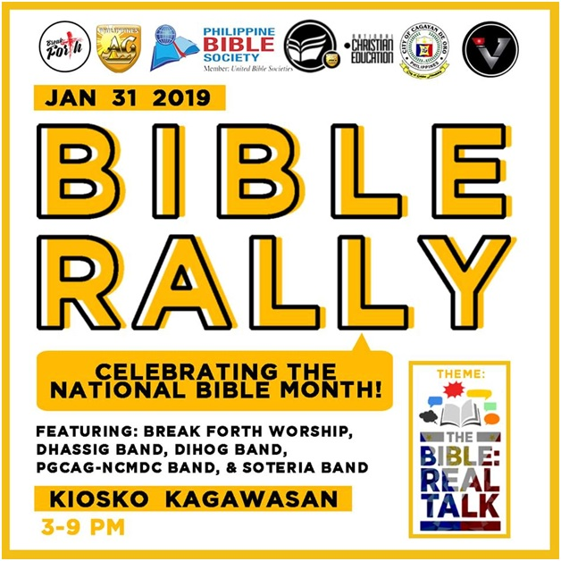 National Bible Month in CDO