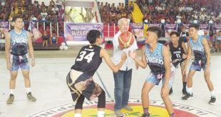 14th Firefly Electric-Frederick Siao basketball league opens in Iligan city