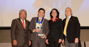 Global-Link MP int'l bags SKAL Tourism Award for Exhibitions