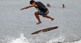 Iliganon dominates Butuan skimboarding competition