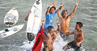Pinoy bags Siargao int'l surfing cup